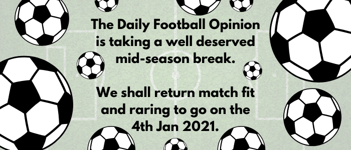 The Daily Football Opinion